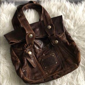 2fa80c156381 Gustto Parina Large Brown Leather Handbag Bag.  275  599. Size  OS · Gustto  · iloveit67 iloveit67. Gustto